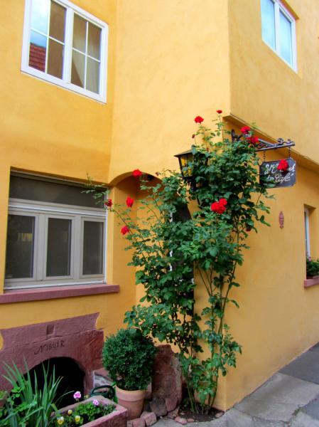 Eingang Rosen