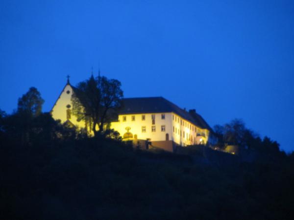 Kloster Engelberg abends
