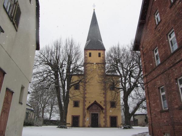 Ev. Kirche Kleinheubach Winter